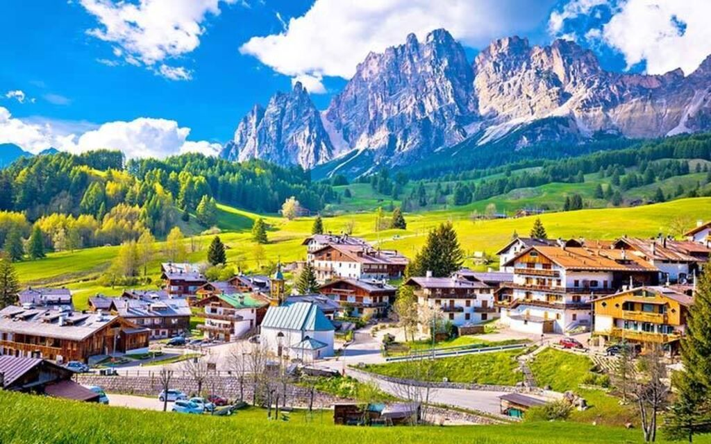 cortina environs mountains travel ideas