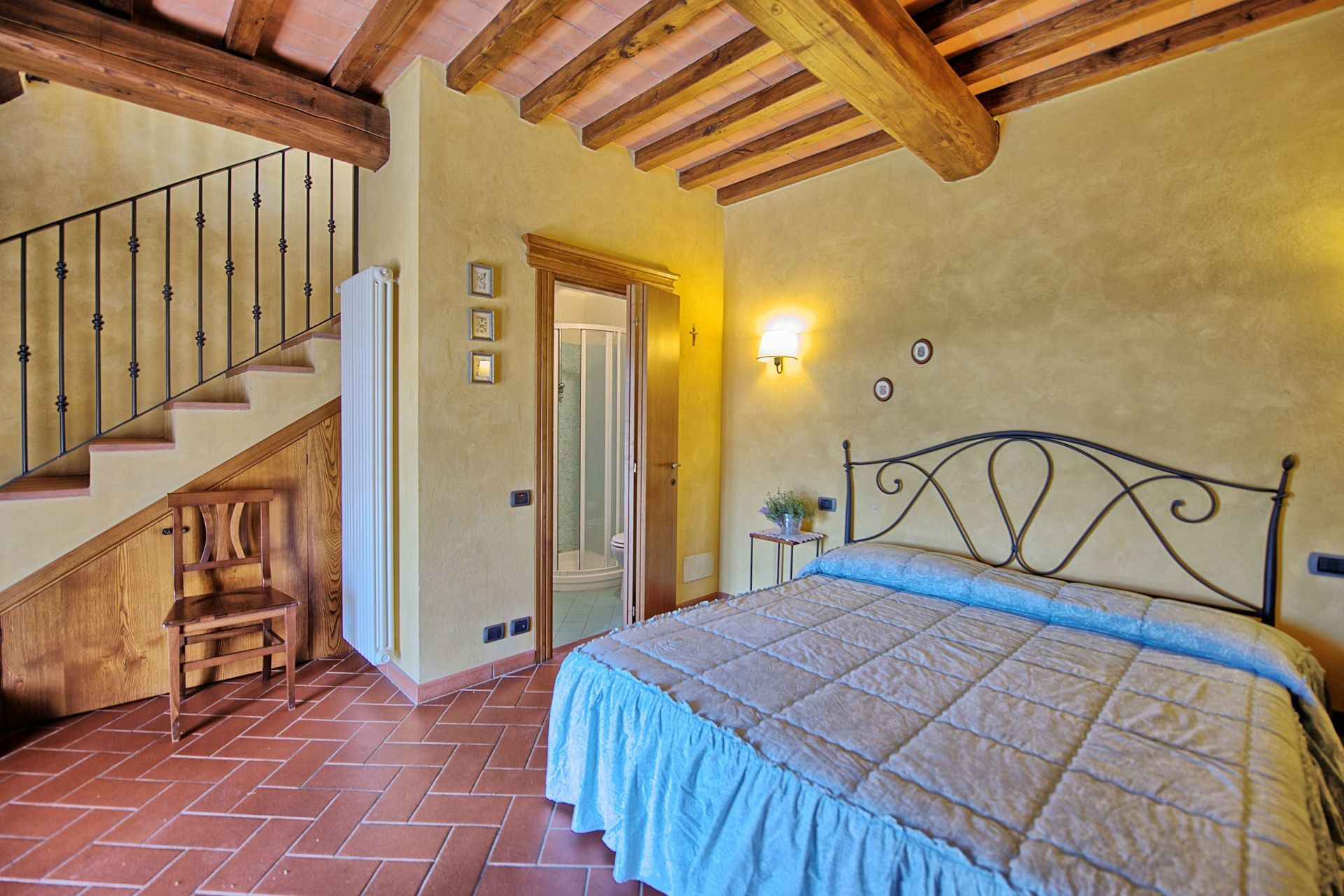 Accommodation Casa Rossa 3 Gorgognano Tuscany Italy