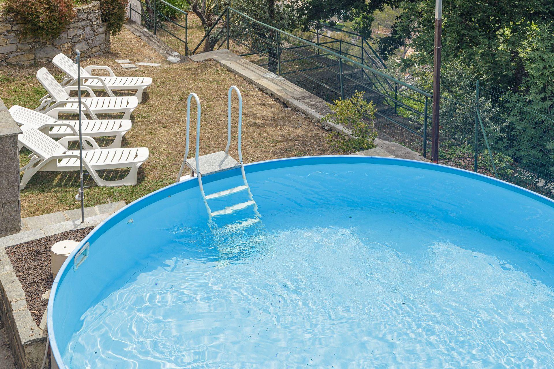 Piscina Con Jacuzzi.Villa Pia Con Piscina A Recco Vacation Rental That Sleeps