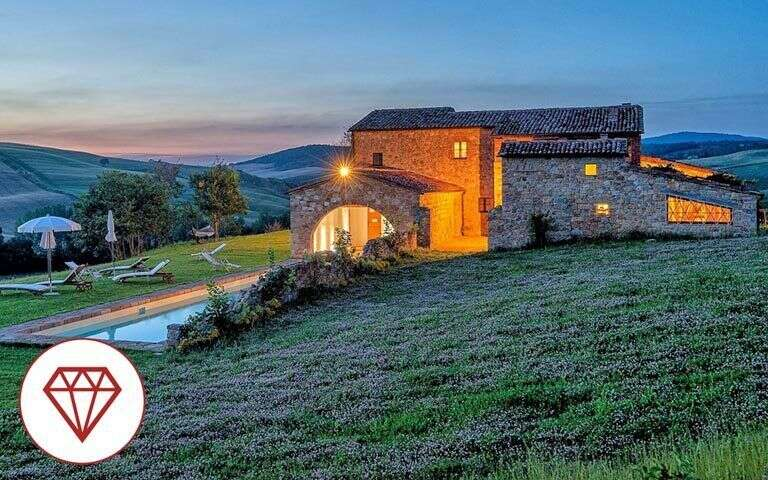 The best holiday rentals in tuscany tuscany villas for Rent a house in tuscany